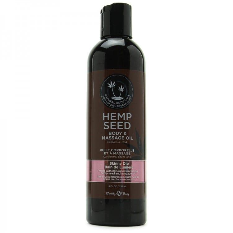 Earthly Body Hemp Seed Massage Oil